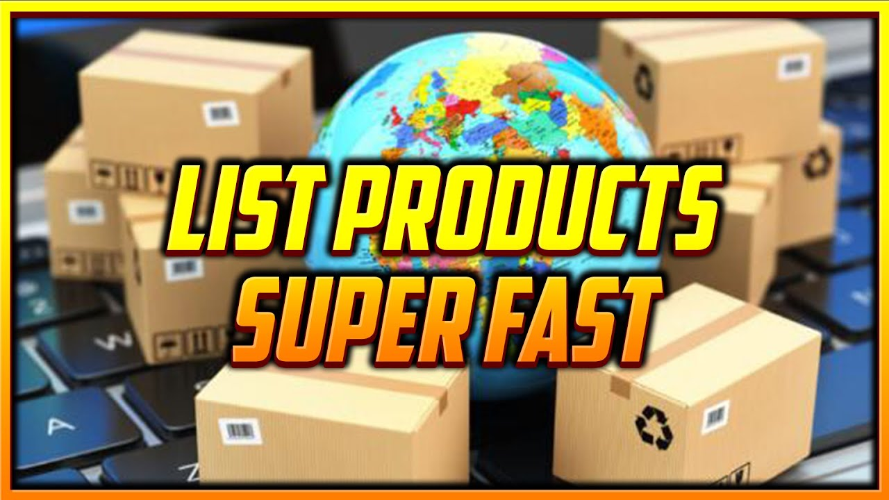 List 1000s of Dropshipping Products Super Fast with this Free Extension