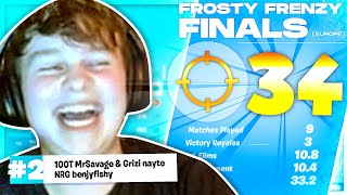 34 KILL GAME in the FROSTY FRENZY FINALS w/ Savage & Nayte
