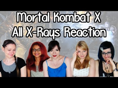 [REACTION] MORTAL KOMBAT X All X-RAY Special Moves | Otome no Timing
