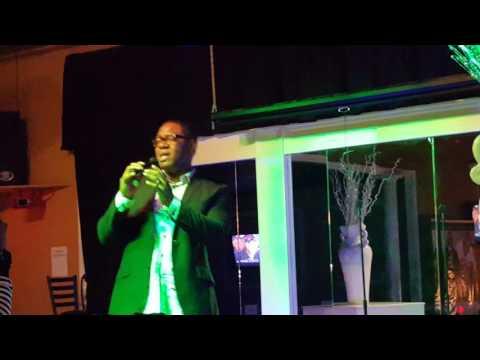 Alvin Garrett singing