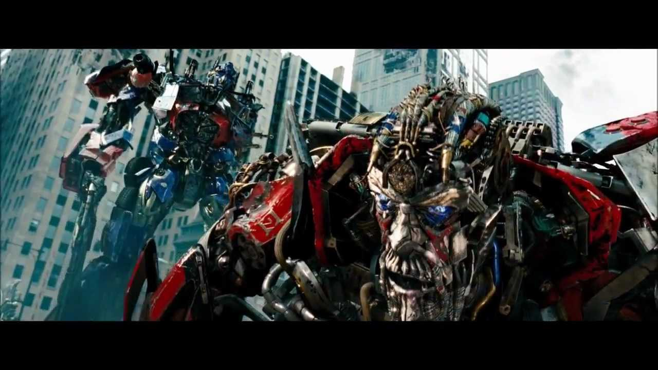 transformers 3 fight scene - optimus vs sentinel hd - youtube