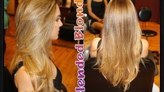 Naturally blended blonde hair Thumbnail
