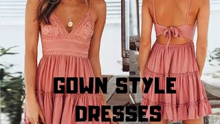Latest gown style dresses on ALIEXPRESS HAUL