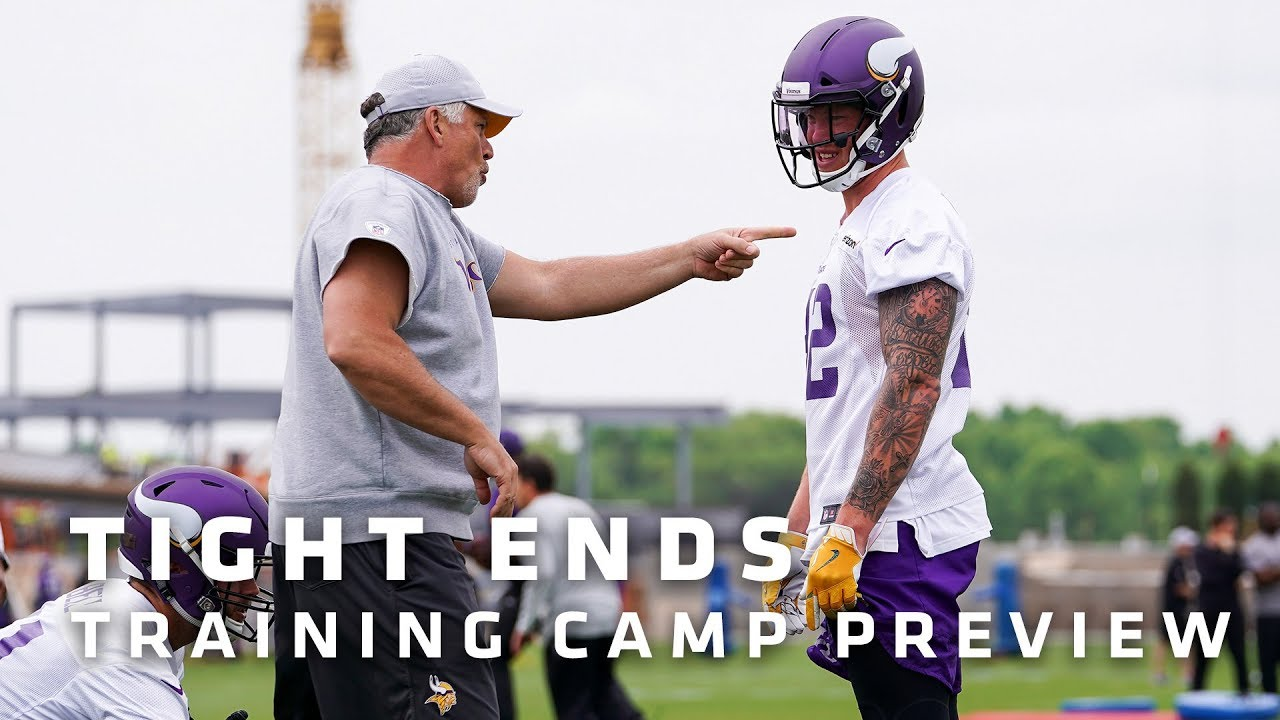 training-camp-preview-tight-ends-featuring-kyle-rudolph-david-morgan-minnesota-vikings