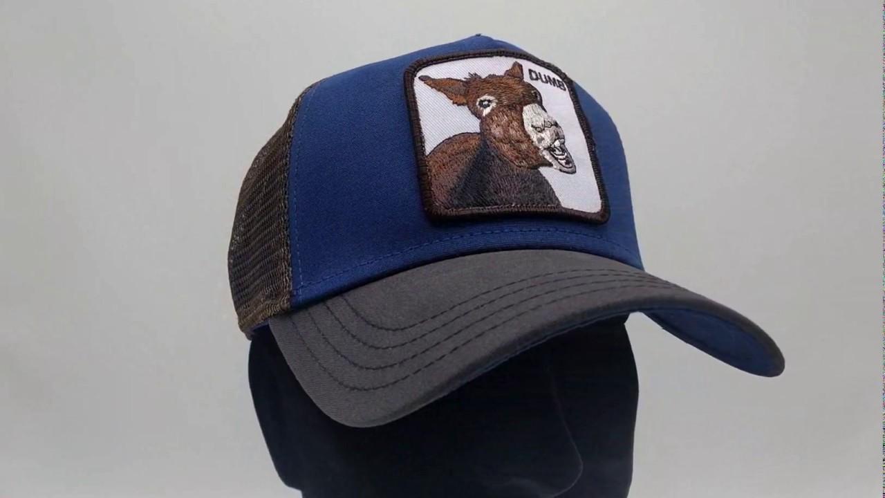 Goorin Bros. Dumbass Trucker cap - Royal - €34 767594adecd7