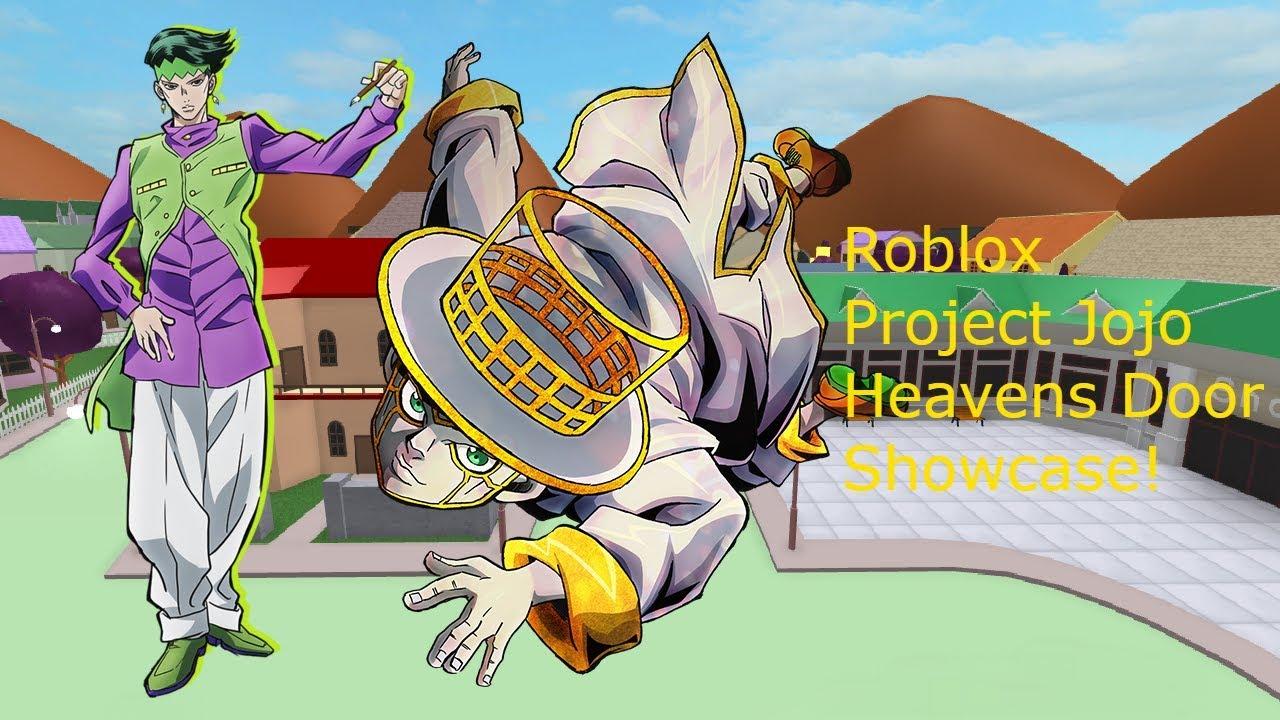 Roblox Project Jojo Silver Chariot Requiem Showcase By Sheeptrainer