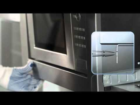 Microondas Balay con marco y sistema de fcil instalacin