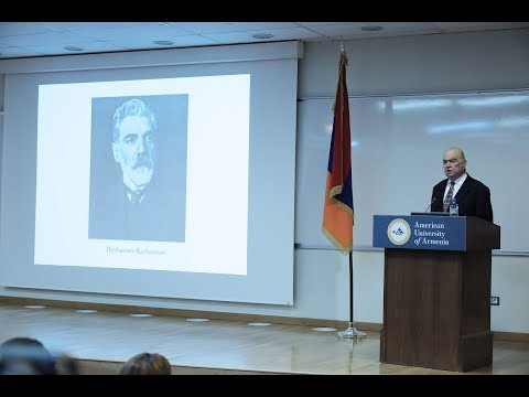 Richard Hovhannisyan - Creating the Republic's Infrastructure