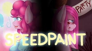 (Speedpaint) MLP: Pinkie Pie and two sides