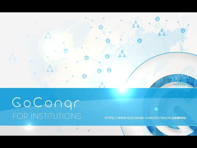 GoConqr Campus For Institutions