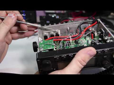 Ремонт радиостанции Optim 778 после укуренных мастеров