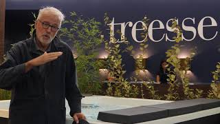 Gruppo Treesse Cersaie 2018 - Marc Sadler - Treesse Pool (it)