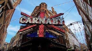 London Walk on CARNABY STREET — London Walking Tour【4K】🇬🇧