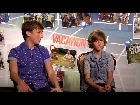 Vacation: Skyler Gisondo & Steele Stebbins  Movie
