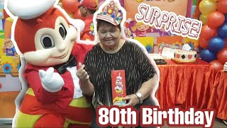Lolaand39s 80th Birthday Surprise Party