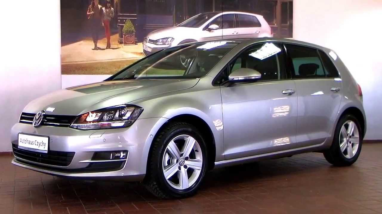 New Golf R >> Volkswagen New Golf VII 14 TSI DSG Comfortline DW104209 Tungsten Silver Bi Xenon Navi - YouTube