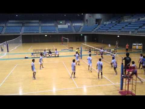 VC千葉ッツ 2015/08/29 マグナムカップ一次予選決勝 対TORYO TOKYO 第2セット