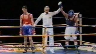 Чемпионат Европы. Kostya Tszyu vs Jim Pender. 1991, Гётеборг.