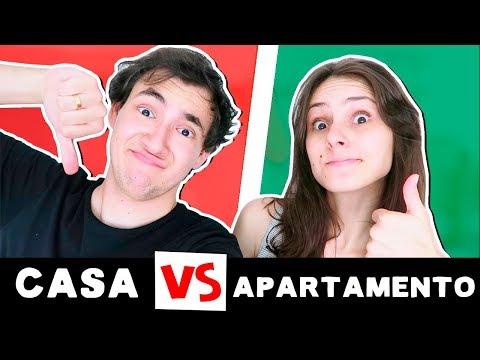 CASA VS. APARTAMENTO - Qual é MELHOR? | MMB