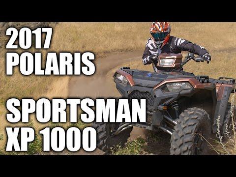 TEST RIDE: 2017 Polaris Sportsman XP 1000