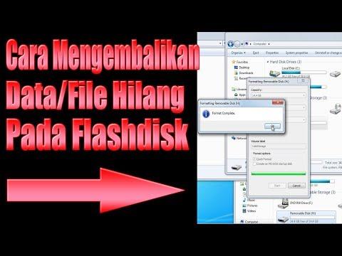 Cara Manjur Mengembalikan File yang Terhapus di Komputer/Laptop (Foto, Video, Dokumen, Lagu, dll).