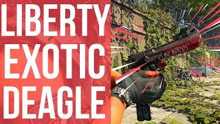 "The Division 2 ""Liberty"" Exotic Weapon Review: How to Get the Liberty Sidearm Guide"