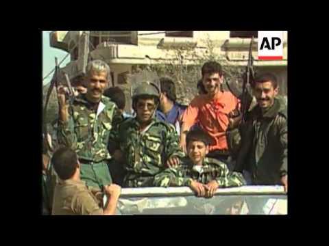 Gaza - Fatah Militia Celebrate In Refugee Camp
