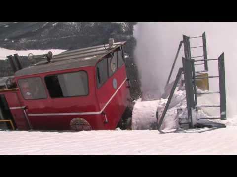 Thumbnail: Pikes Peak Cog Railway Snowplow HD snow plow