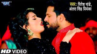 होठ हमार चूस ल   Ritesh Pandey, Antra Singh Priyanka का सबसे धाकड़ गाना   Bhojpuri Song 2021