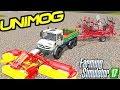 Farming Simulator 2017 Mods MB Unimog 5050