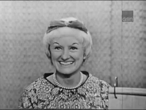 What's My Line?  Phyllis Diller; Shelley Berman panel Feb 10, 1963