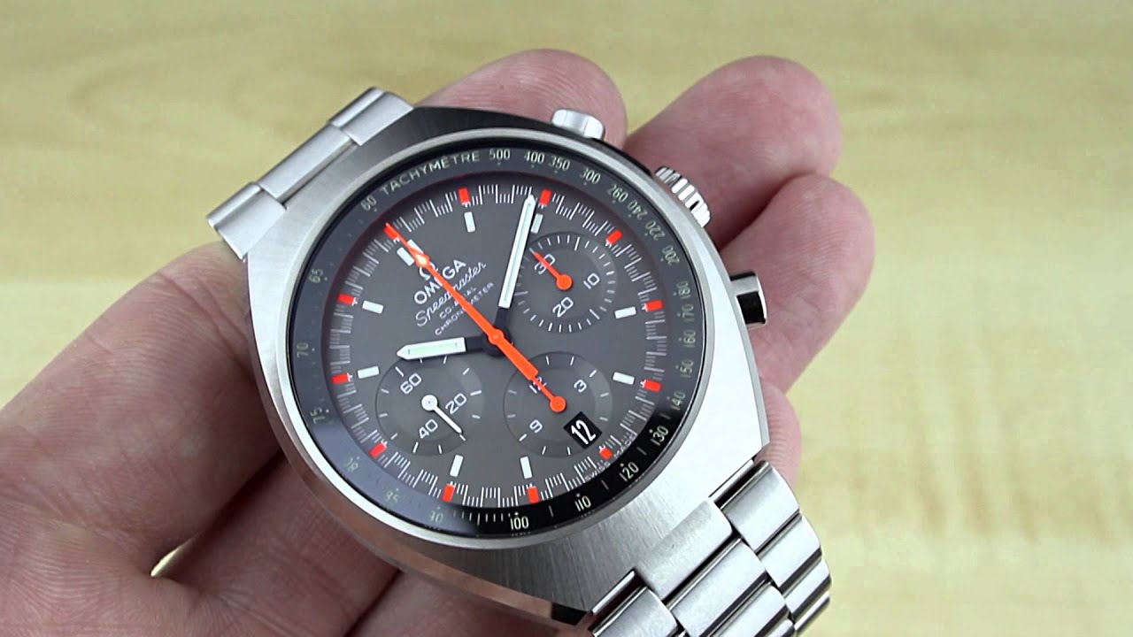 Watch review: Omega Speedmaster MKII