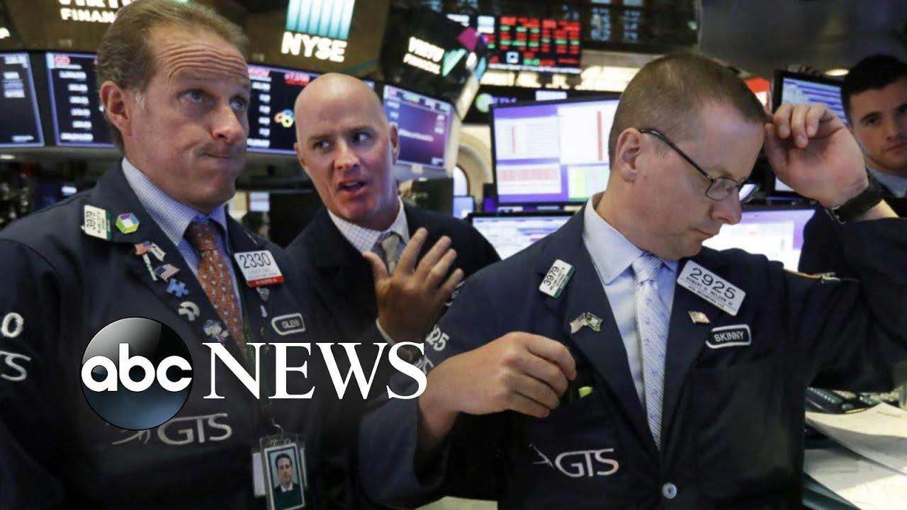 ABC News:Dow plunges 800 points, marking worst day for stocks this year