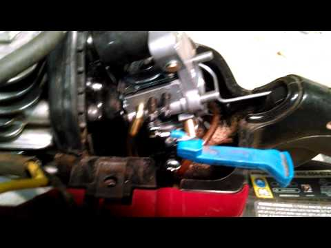 DIY How To Adjust A Small Carburetor. Simple Tool Trick.