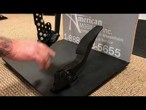 How To Install Pedal Extenders With American Mobility
