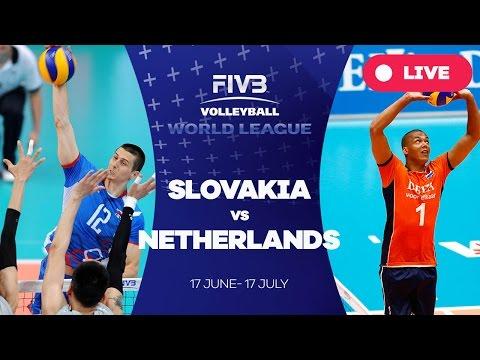 Slovakia v Netherlands - Group 2: 2016 FIVB Volleyball World League