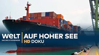 Ein Containerschiff auf hoher See | HD Doku