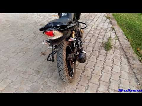 Apache simple Modification Change Exaust Sound & Back Look Your Tvs Apache RTR