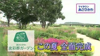 【HBCテレビ】マイタウンあさひかわ「まちなかのオアシス 北彩都ガーデン」