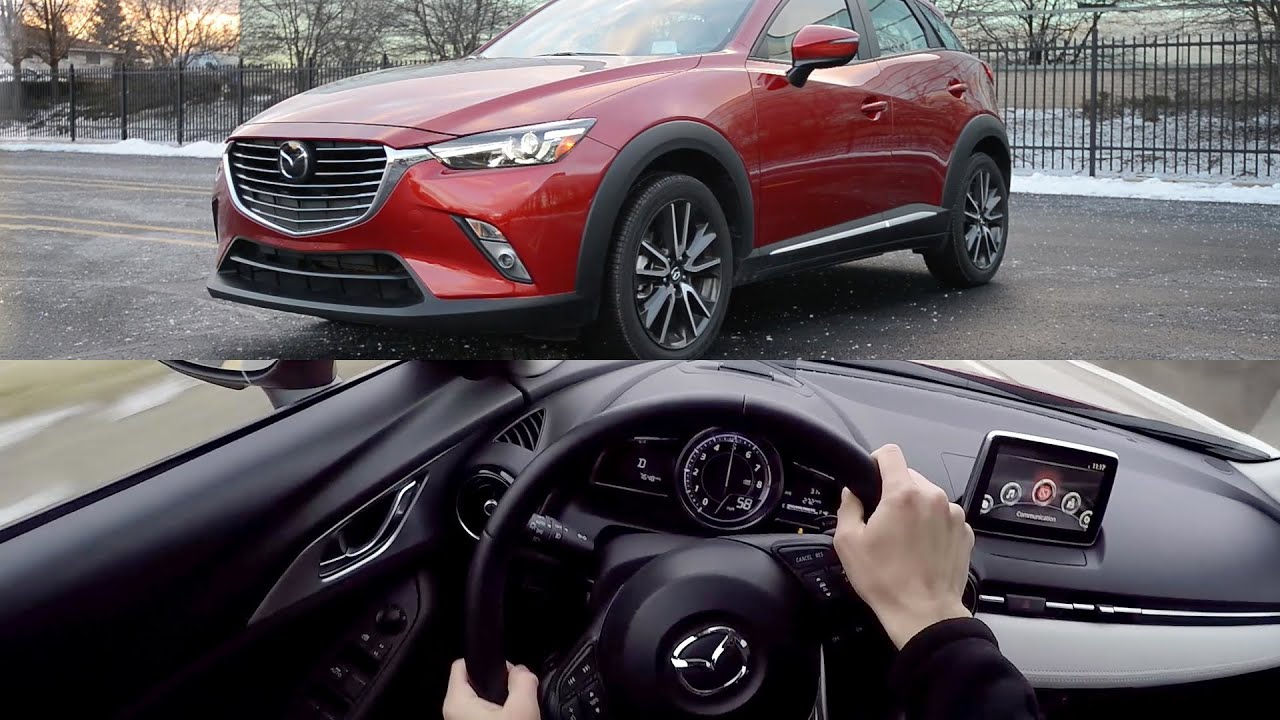 2016 mazda cx-3 grand touring awd - wr tv pov test drive - youtube