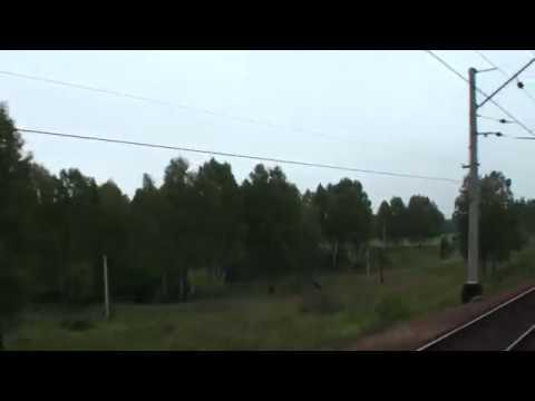 Новосибирская,Кемеровская область.  Мариинск.  вид из окна поезда
