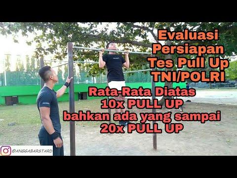 Evaluasi Tes Pull Up Calon Siswa TNI/POLRI Kabupaten Gianyar | Part 2, 9 Maret 2018