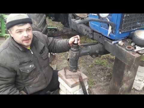 Ремонт переднего моста мтз 80 своими руками видео