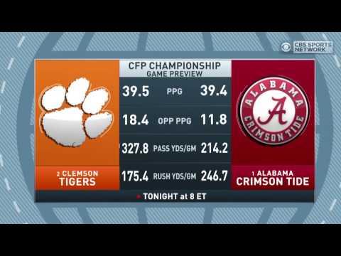 Gottlieb: Marcus Allen talks Alabama vs Clemson