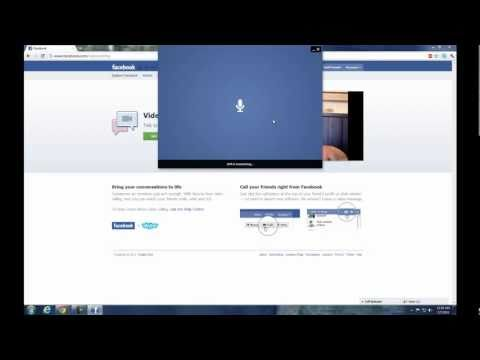 How To Video Chat On Facebook With Skype