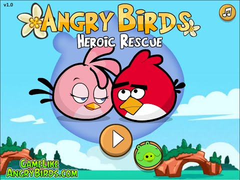 Angry Birds Stella Heroic Rescue - FREE Online Mini Gameplay 3 Star Walkthrough  Levels 1-10 1 To 10