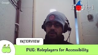 PUG: Roleplayers for Accessibility Interview