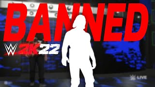 Another WWE Superstar Banned From WWE 2K22