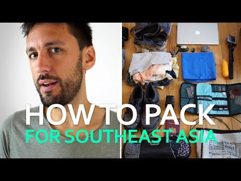 Packing for Southeast Asia: How Much REALLY Fits in a 40L Bag