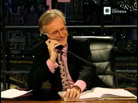 Die Harald Schmidt Show - Harald Besorgt Sich Gute Witze Bei Einem Fan